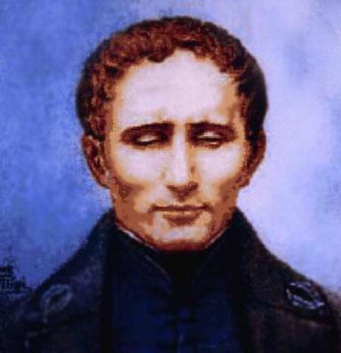 Begründer der Brailleschrift